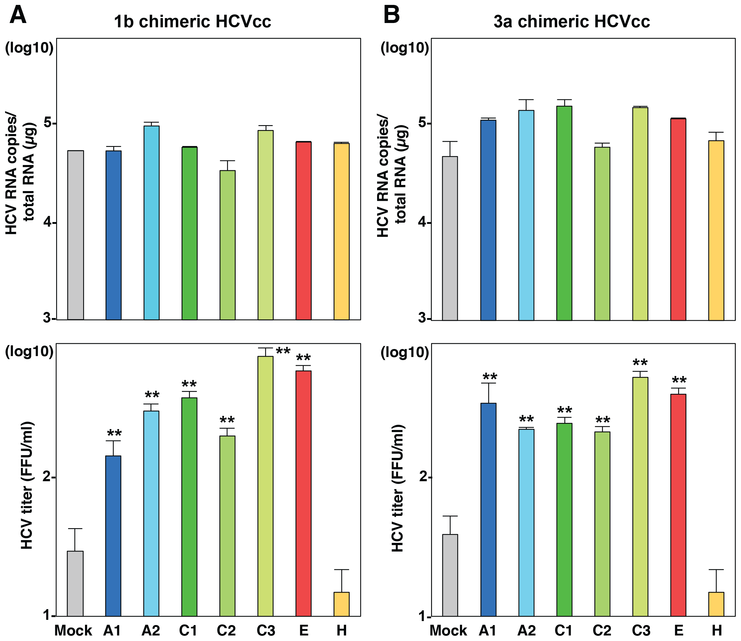 Exchangeable apolipoproteins participate in the formation of infectious HCV particles of genotype 1 and 3.
