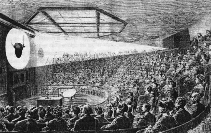 Přednáška v Čermákově Spectatoriu doplňovaná projekcí