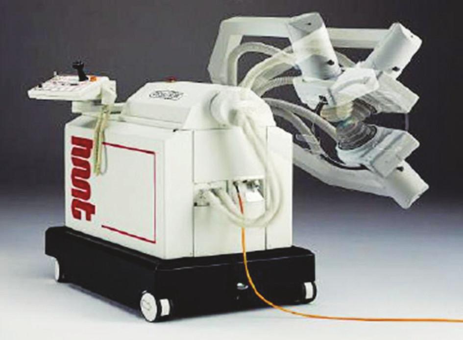 První generátor RV v ortopedii – systém HMT Ossatron.
