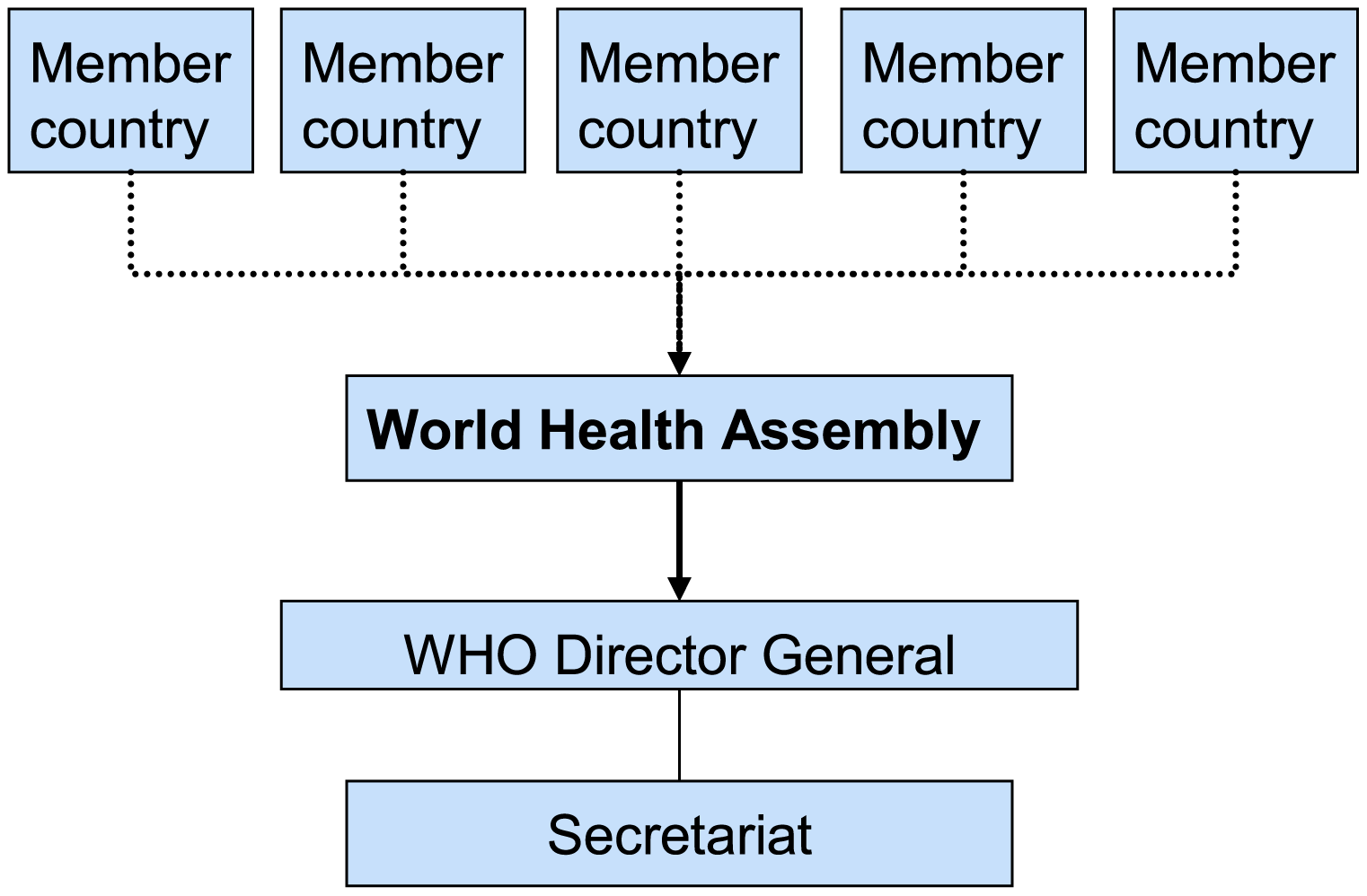UN-type international health governance.