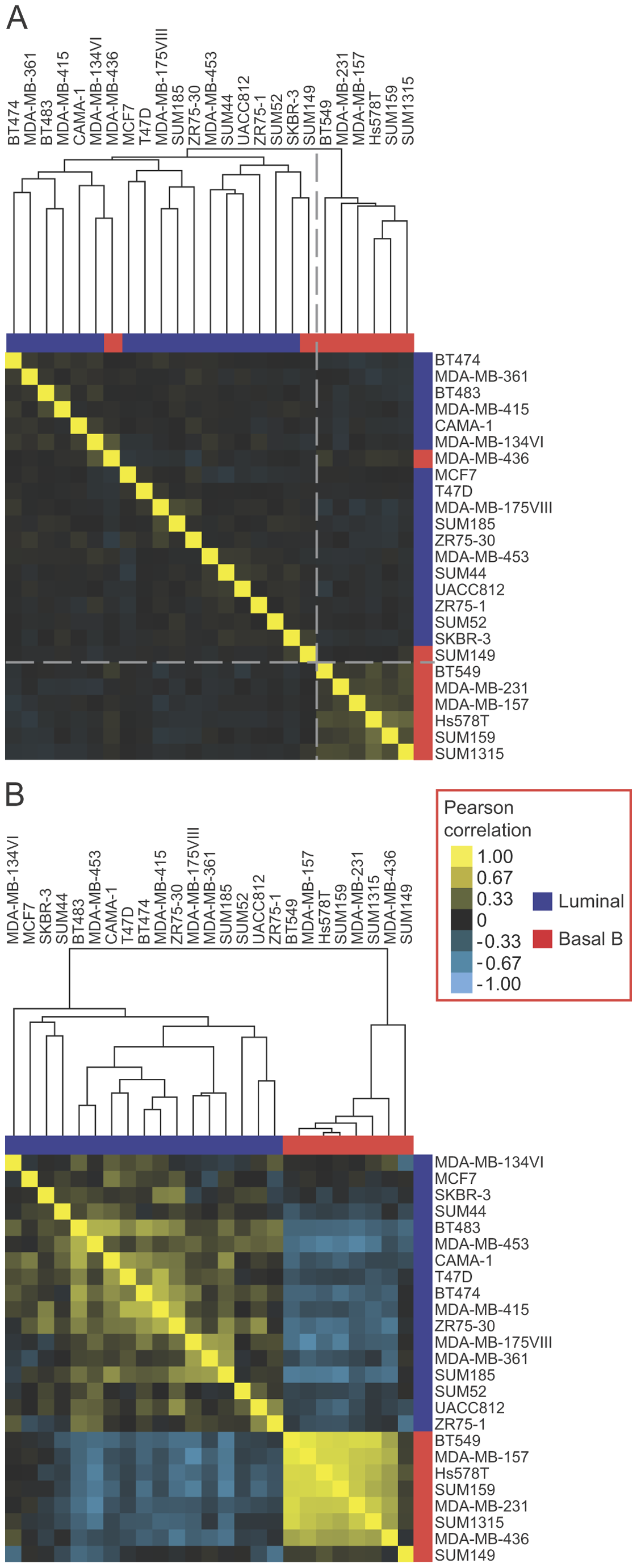 EMT–associated alternative mRNA isoforms classify breast cancer subtypes.