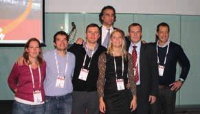Současný výbor ENYGO (zleva E. Chereau – Francie, I. Zapardiel – Španělsko, V. Sukhin – Ukrajina, P. Dursun – Turecko, K. Lindemann – Norsko, M. Halaška – Česko, R. Laky – Rakousko)