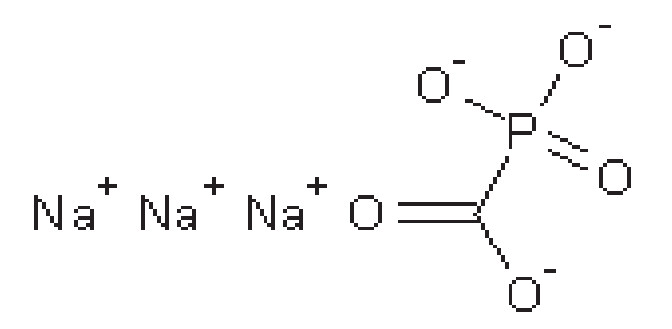 Struktura foscarnetu