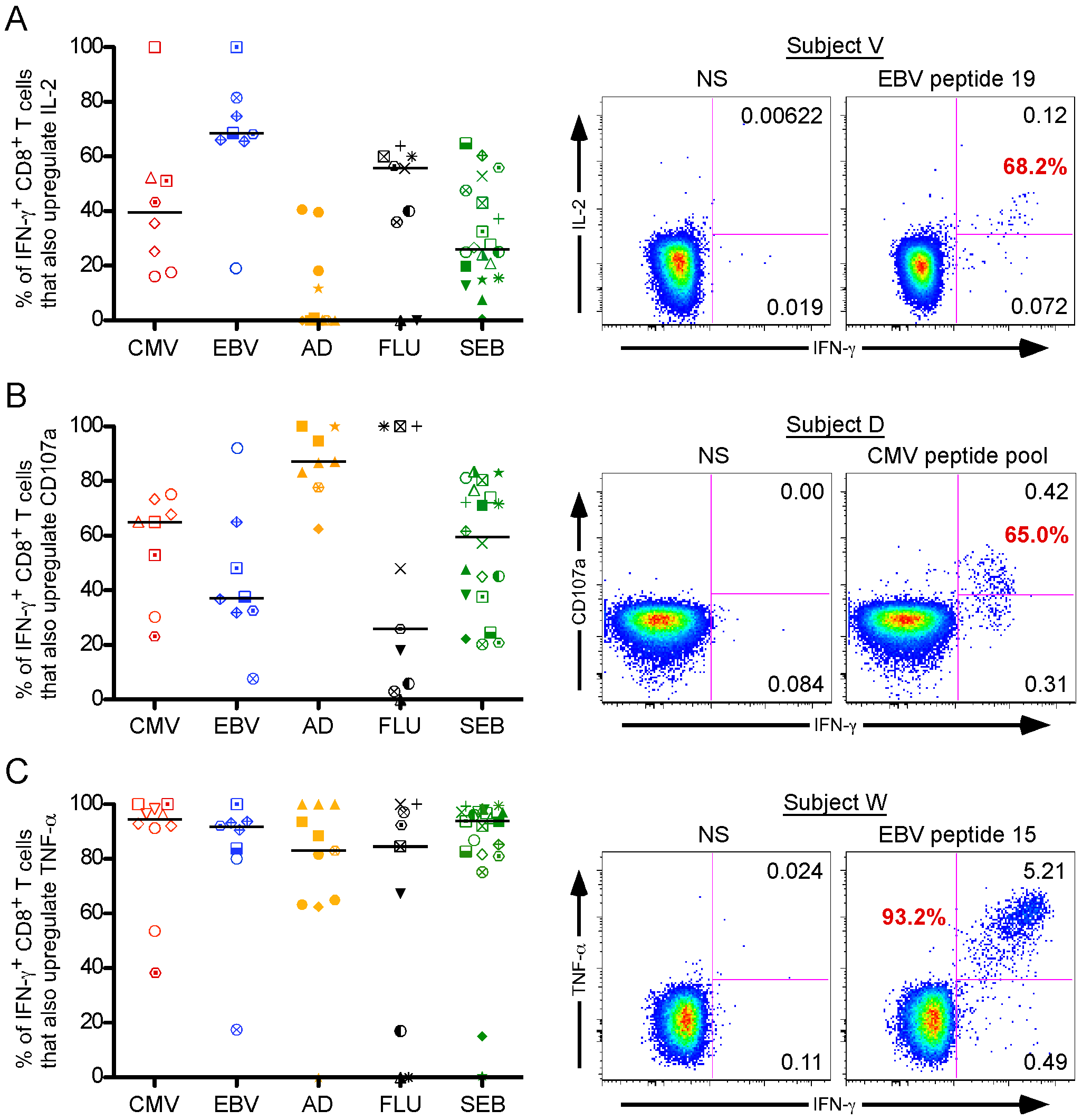 Individual CD8<sup>+</sup> T cell functions do not predict universal viral control.
