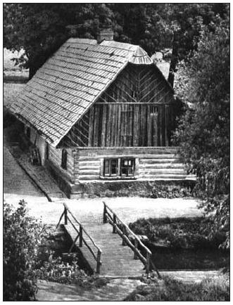 Staré bělidlo. Foto z poloviny 20. století