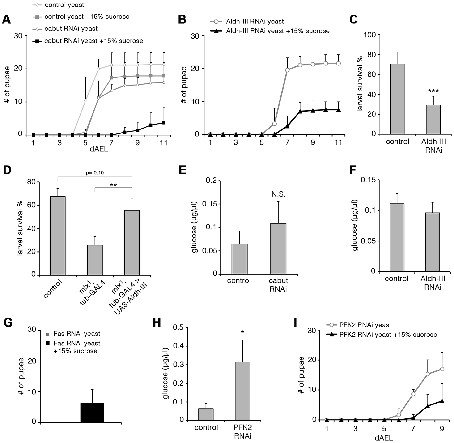 Functional analysis of Mlx-regulated genes.