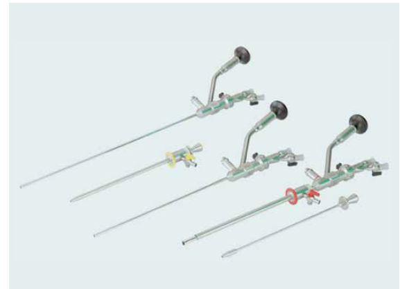 Set pro mini PNL, mini-nefroskop 13 Fr,  www.lut-endoscopy.com.