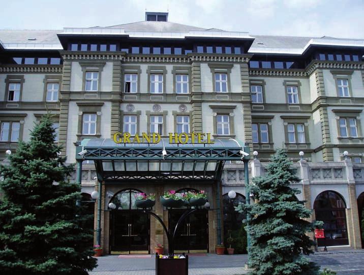 Grand Hotel na Margitinom ostrove v Budapešti, postavený roku 1873 v neorenesančnom štýle.