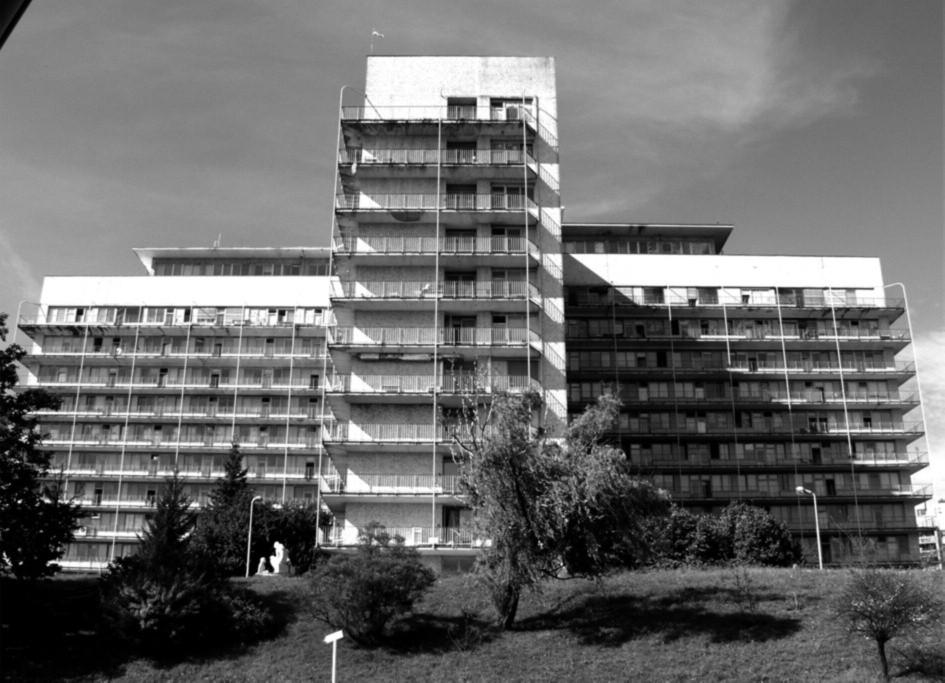 Fakultní nemocnice v Motole – dětská část (od 1970)