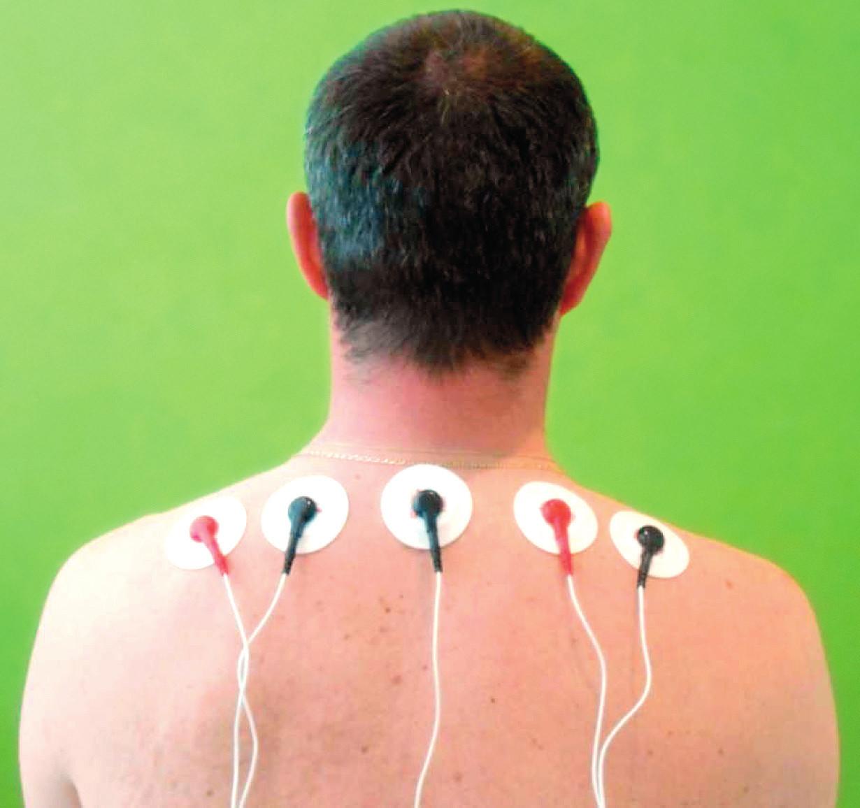 Uloženie snímajúcich elektród.