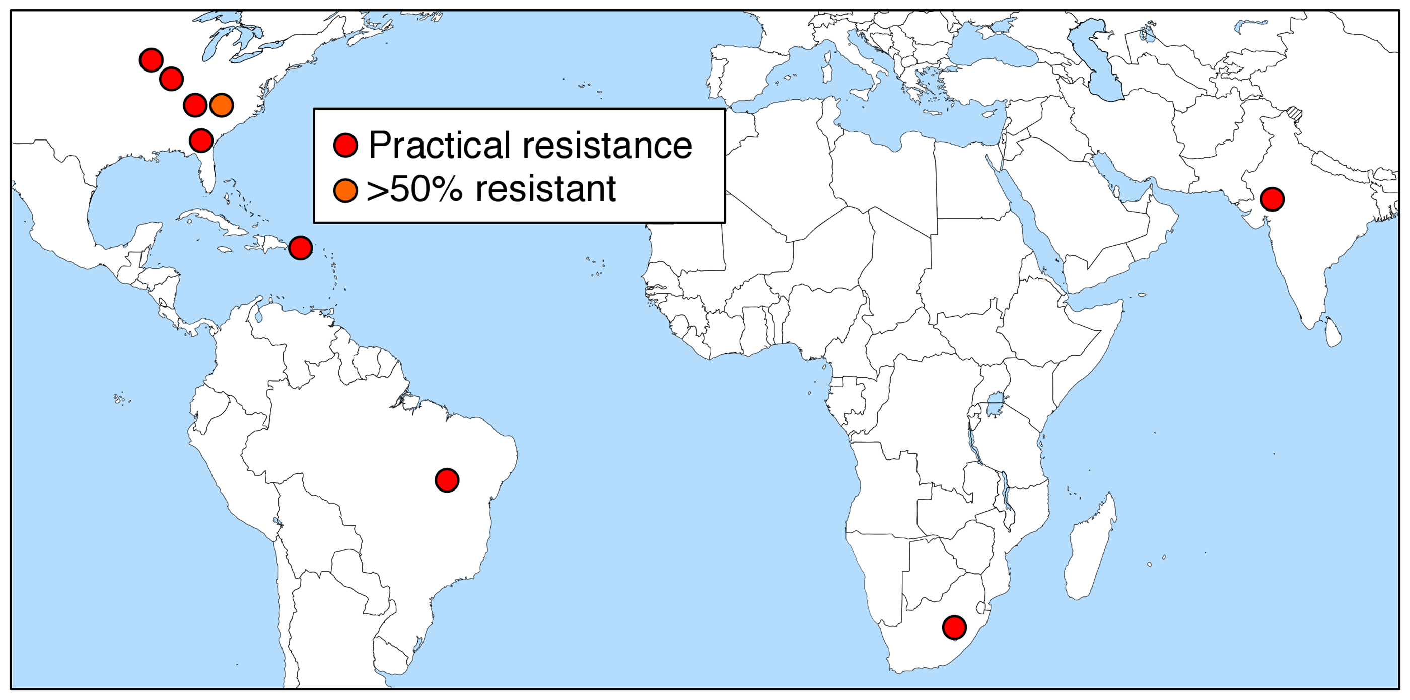 Field-evolved resistance to Bt crops [<em class=&quot;ref&quot;>4</em>,<em class=&quot;ref&quot;>20</em>,<em class=&quot;ref&quot;>27</em>,<em class=&quot;ref&quot;>29</em>–<em class=&quot;ref&quot;>31</em>].