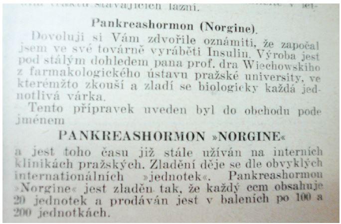 Časopis lékařův českých z roku 1923, č. 49, s. 299