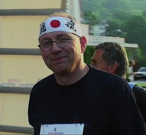 Prof. Vítovec na kardioběhu Jiřího Tomana.