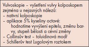 Vulvoskopie.