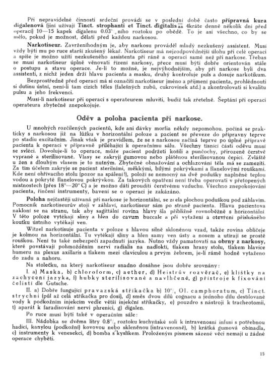 Učebnice chirurgie z r. 1921, s. 15