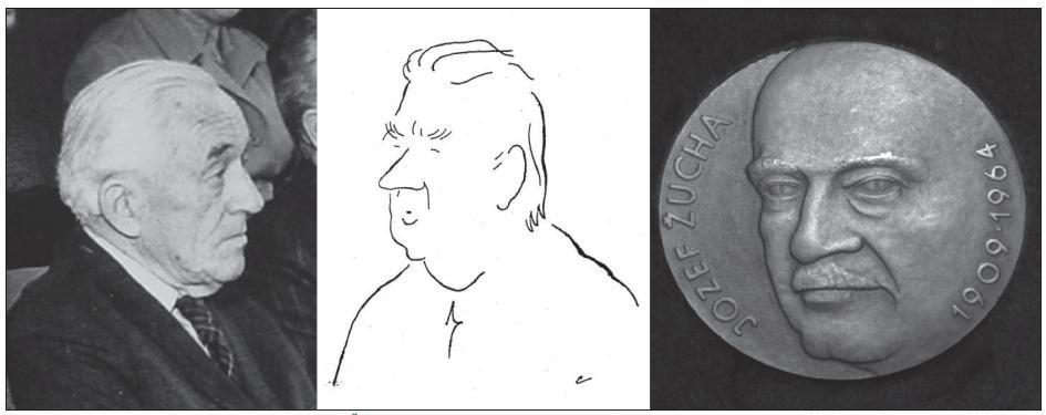 Zdeněk Kunc, Rudolf Petr, Jozef Žucha.