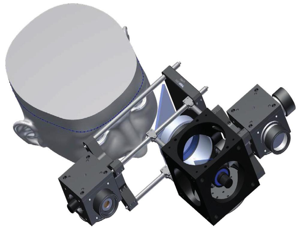 Simulační model nového optického systému