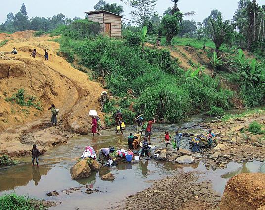 Ženy v Kongu a velké prádlo