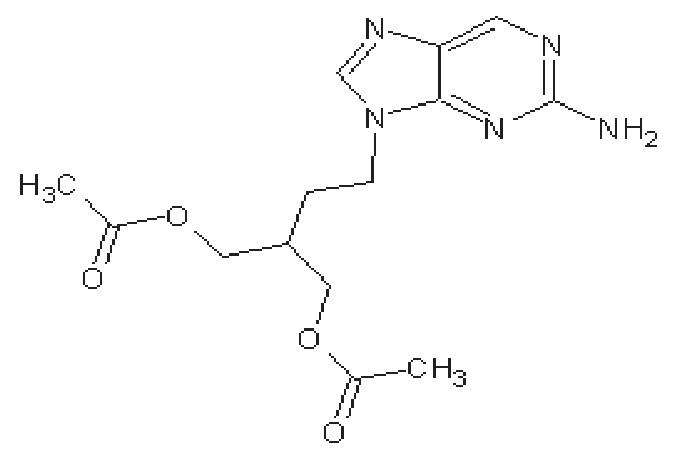 Struktura famcikloviru