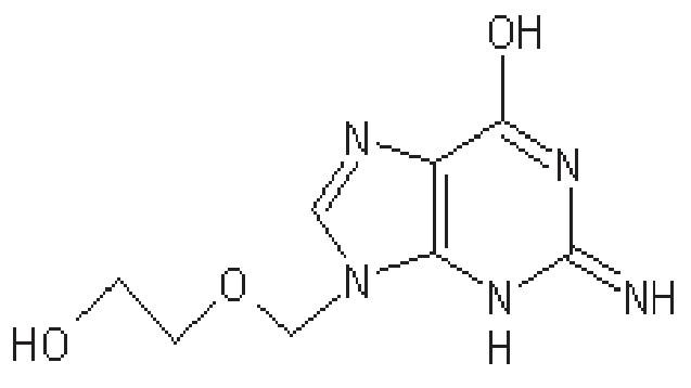 Struktura acikloviru
