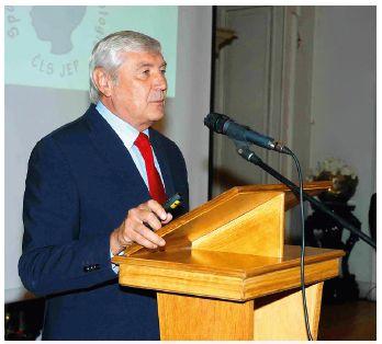 Prof. Vladimír Komárek, CSc. zhodnotil význam prof. S. Nevšímalové pro dětskou neurologii