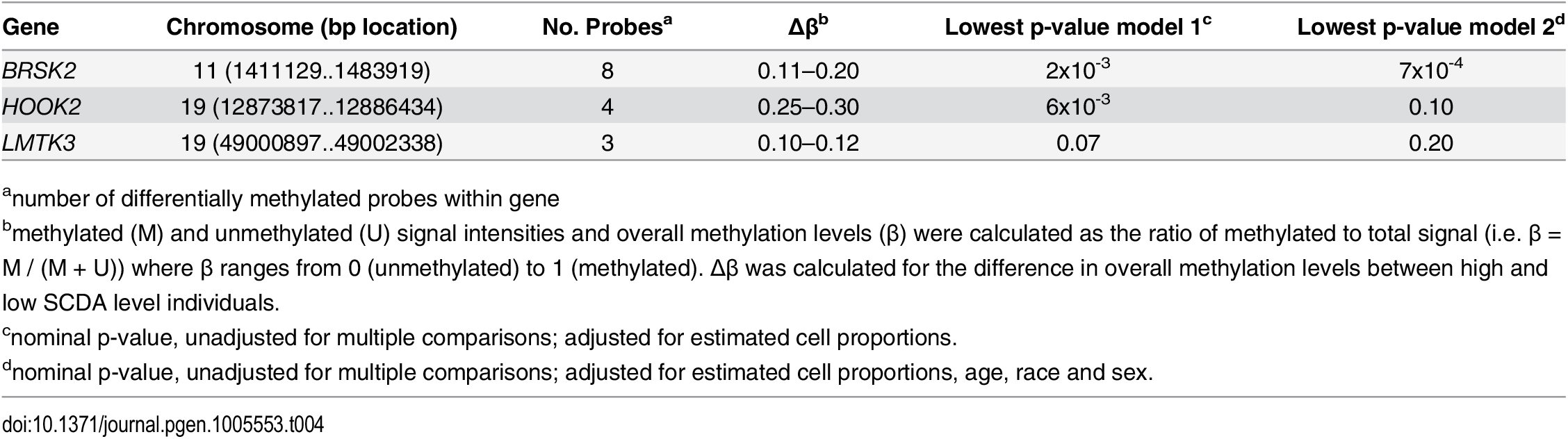 Whole genome methylation profiling.