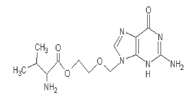 Struktura valacikloviru