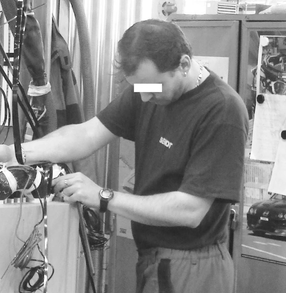 Poloha hlavy a krku – profese elektronavíječ