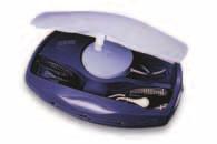 """Pacientská jednotka systému Housecall Plus firmy St. Jude Medical, obsahující náramkové elektrody ke snímání povrchového EKG, radiofrekvenční snímací hlavici a pevnou telefonní linku pro hlasový kontakt s vyškoleným personálem (převzato z internetové prezentace firmy St. Jude Medical: <a href=""""http://www.sjm.com"""">http://www.sjm.com</a>)."""