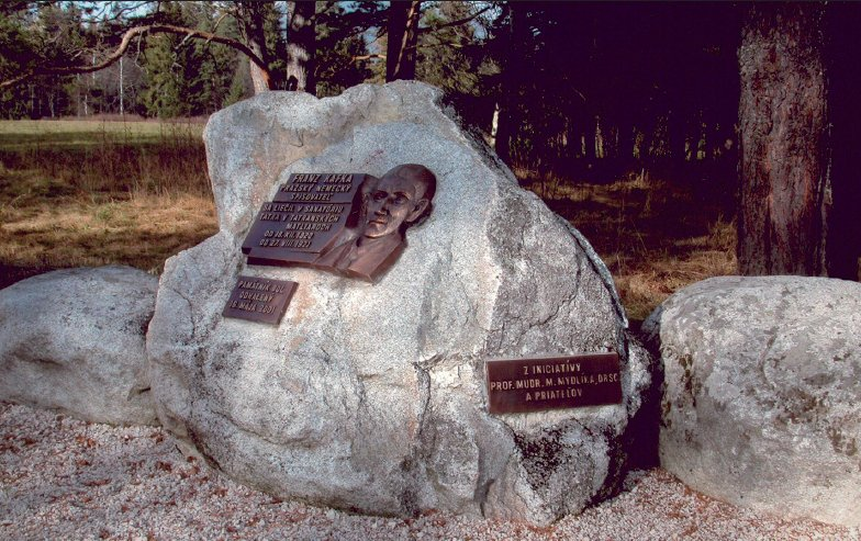 Pamätník Franza Kafku v Tatranských Matliaroch, vo Vysokých Tatrách