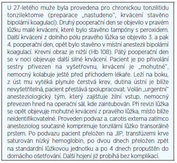 Kazuistika I.