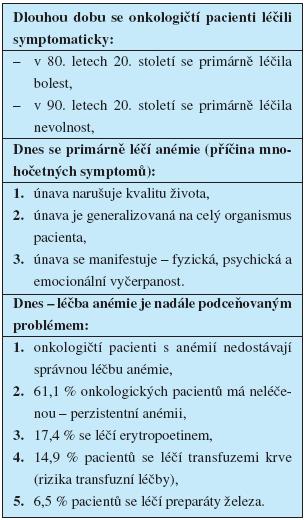 Hodnocení kvality léčby a péče o onkologické pacienty