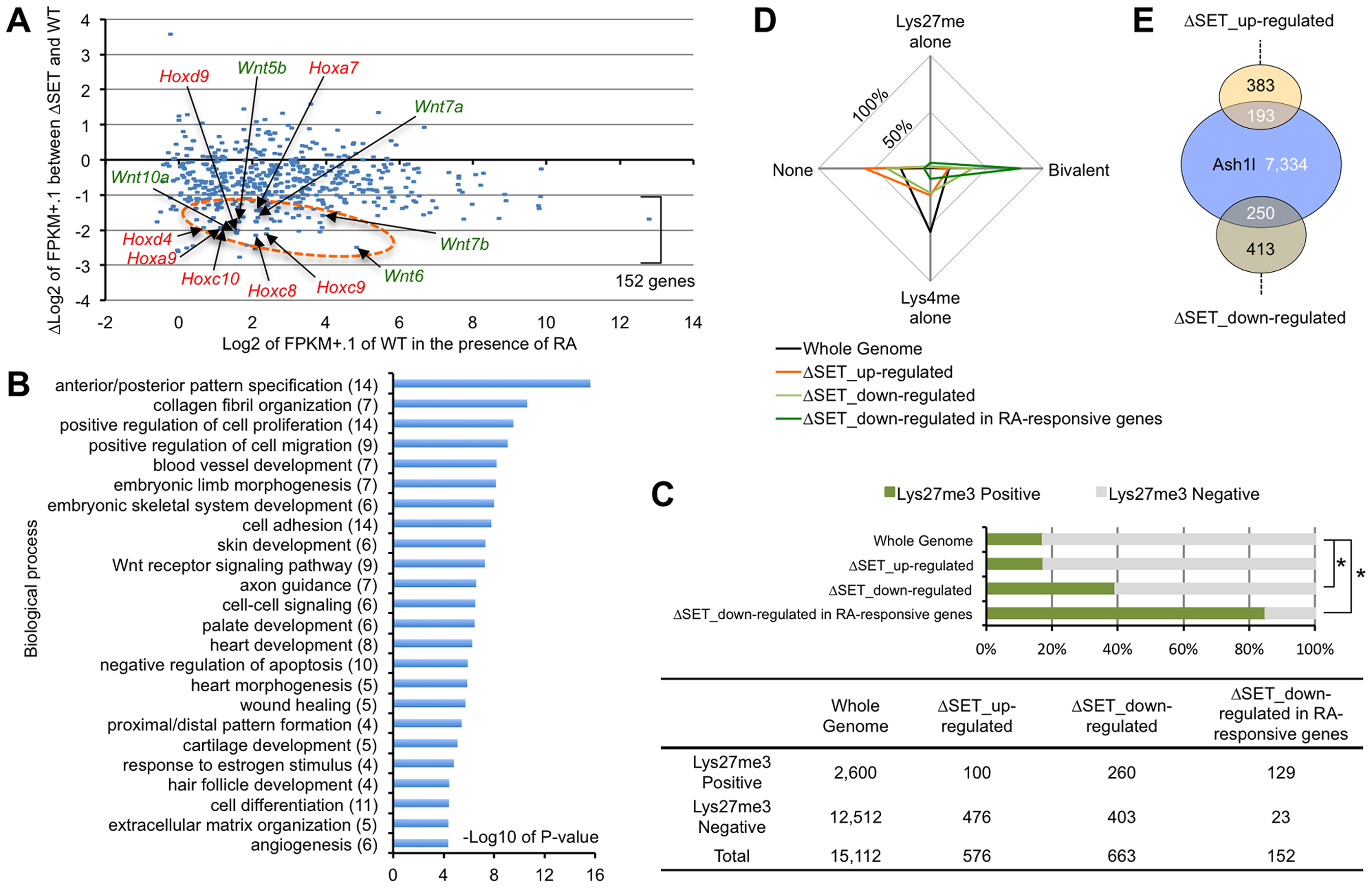 Comprehensive gene expression analyses of differentiating ES cells.