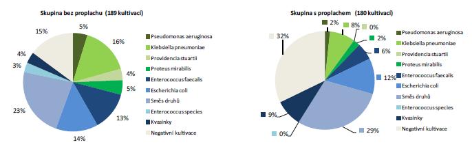 Přehled mikrobiálních kmenů Graph 5 Overview of microbial strains