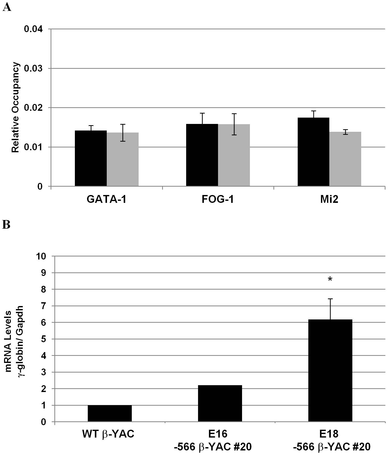 Disruption of the γ-globin silencing in the −566 <sup>A</sup>γ-globin HPFH β-YAC transgenic mice.