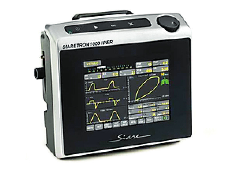 Moderní plicní ventilátor Siaretron 1000 Iper