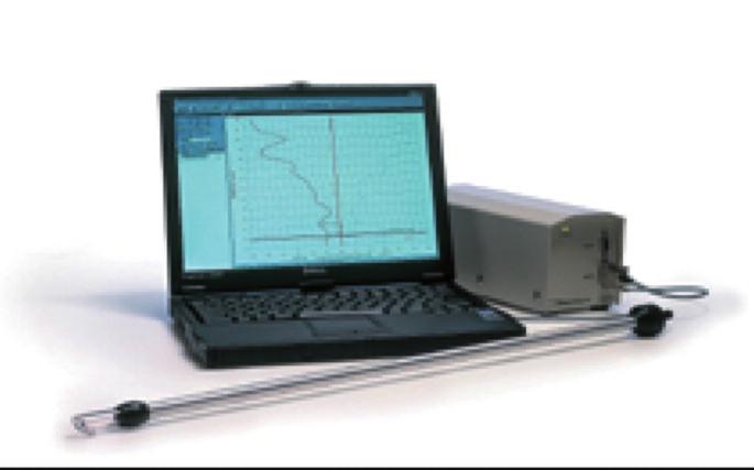 RhinoScan – přístroj na vyšetření akustické rinometrie