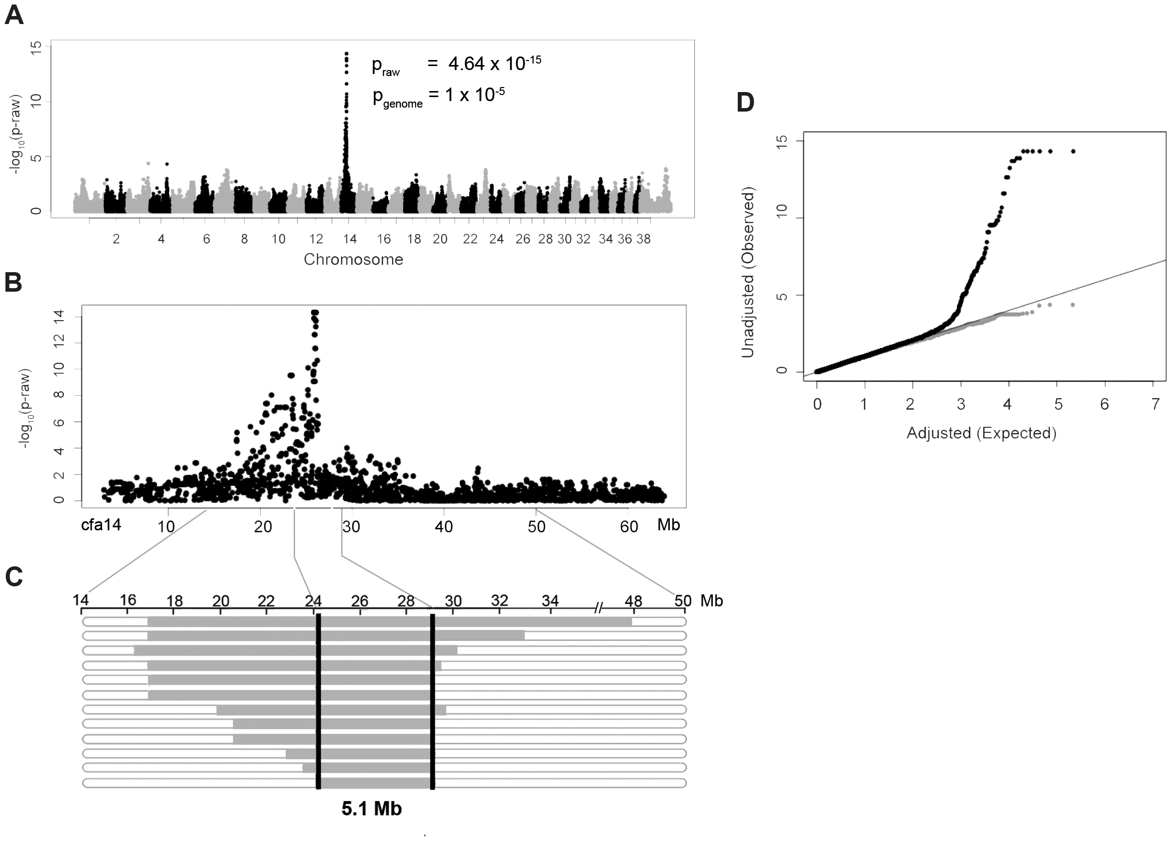 Genome-wide association study results of NSDTRs with CP.