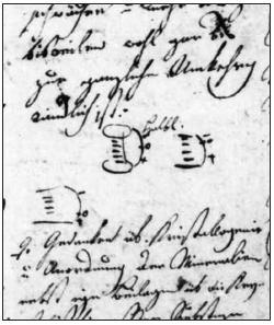 Purkyňuv rukopis a kresba v jeho deníku z doby studií dokazuje jeho zájem o fyziku.