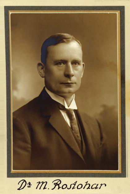Mihajlo Rostohar (30. července 1878 – 5. srpna 1966) – první experimentální psycholog pracující v českých zemích; je jednou z osobností důležitých pro vývoj naší psychologie