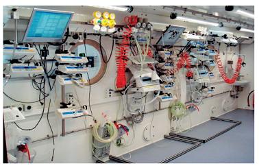 Vybavení hyperbarické komory certifikovanou zdravotnickou technikou pro ošetření pacientů v režimu intenzivní péče – 0 Univerzitní nemocnice v Lille