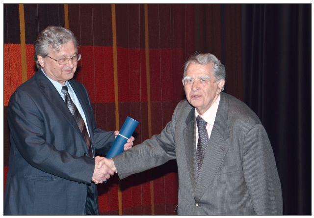 Udělení čestného členství ČSÚCH ČLS JEP doc. MUDr. Josefu Kopeckému, DrSc.