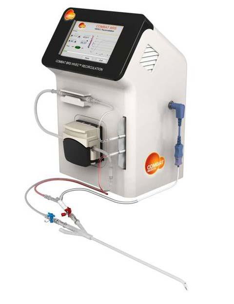 HIVEC recirkulační systém Combat BRS se zapojeným výměnným setem Fig. 2 HIVEC recirculatory system Combat BRS with connected exchangable set