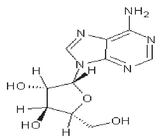 Struktura vidarabinu