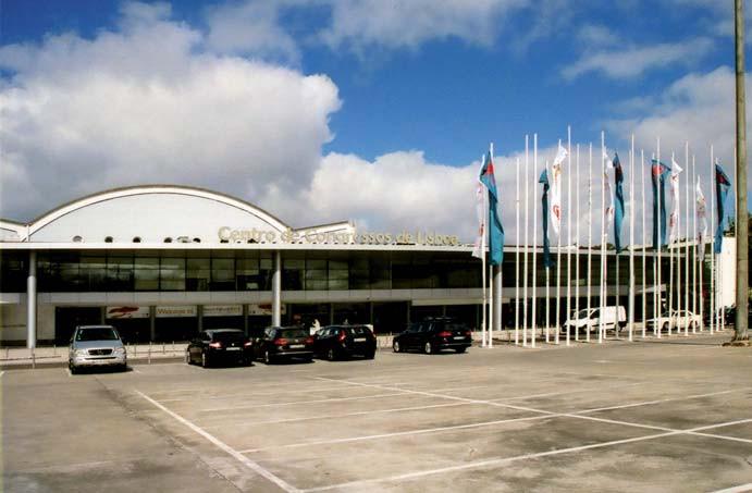 Kongresové centrum v Lisabonu.