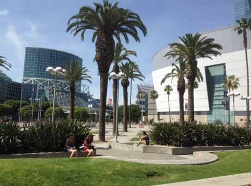 Spetzler Symposium se konalo v Kongresovém centru v Los Angeles.
