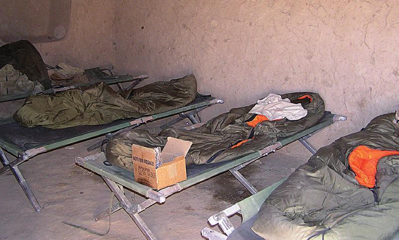 Sparťanský život odloučených jednotek naší armády v Iráku