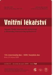 Vnitřní lékařství – od 54. ročníku (od roku 2008)