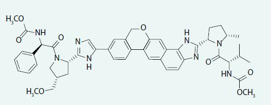 Strukturální vzorec velpatasviru