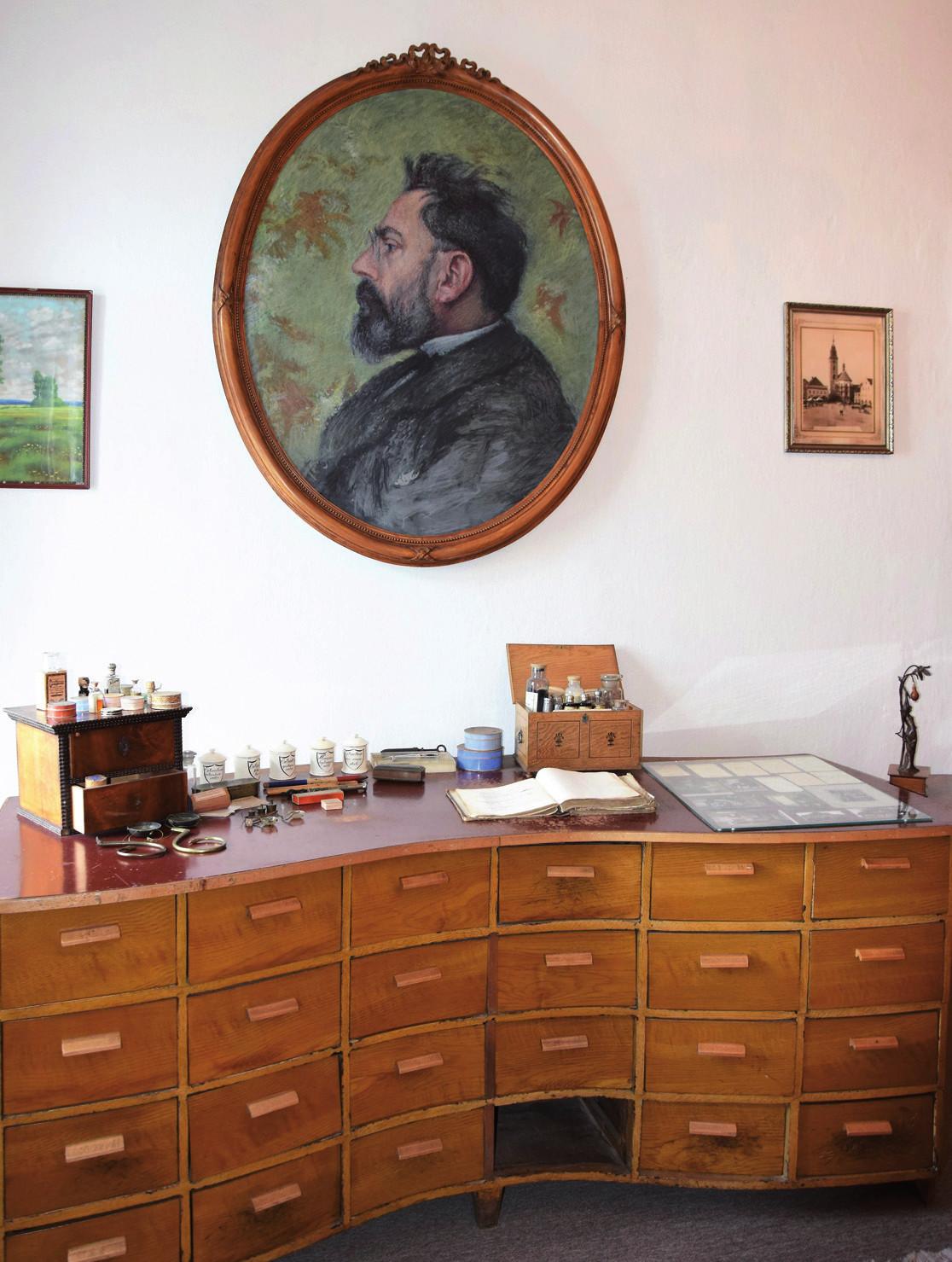 Vodňanská tára a František Herites v místním muzeu